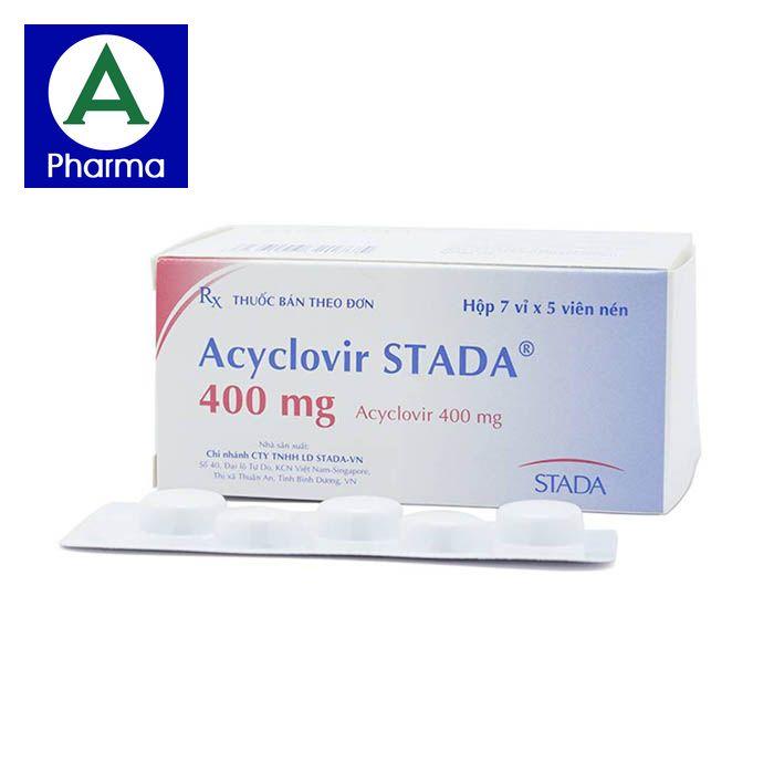 Aciclovir 400Mg Pharmedic 3X10