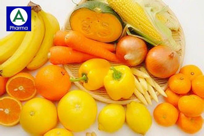 Rau, củ quả màu cam cũng chứa nhiều vitamin C