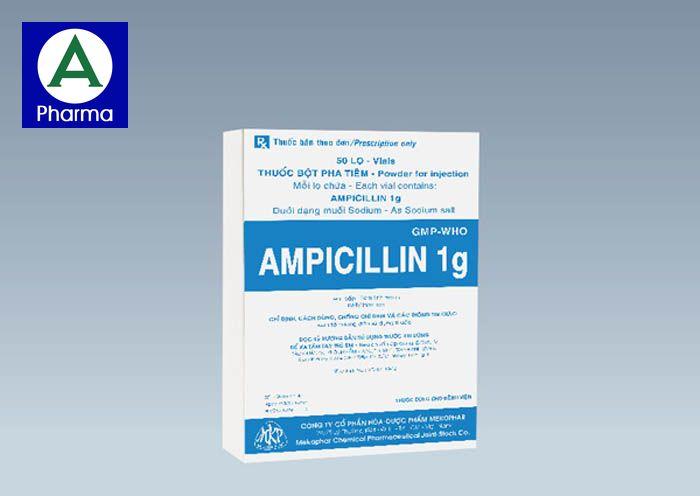 Ampicillin 1G Mekophar