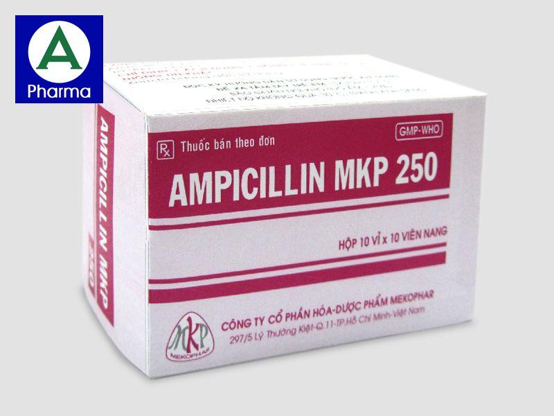Ampicillin 250Mg Mekophar