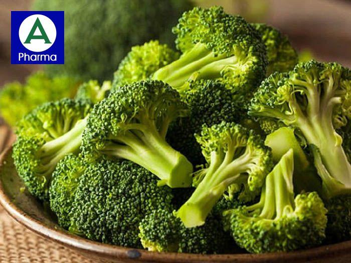 Bông cải xanh cung cấp dưỡng chất và chất xơ tốt cho người tim mạch, huyết áp