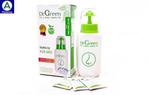Dr.Green Natural - Bình xịt rửa mũi của Việt Nam