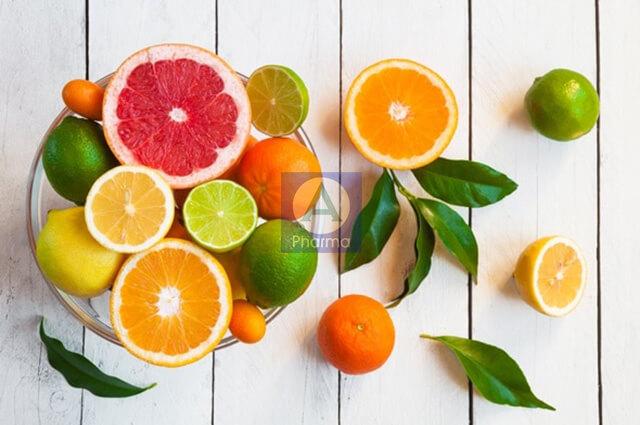 Các loại trái cây có múi