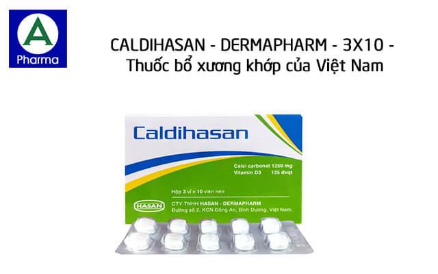 Caldihasan - Dermapharm - 3X10 là thuốc gì?