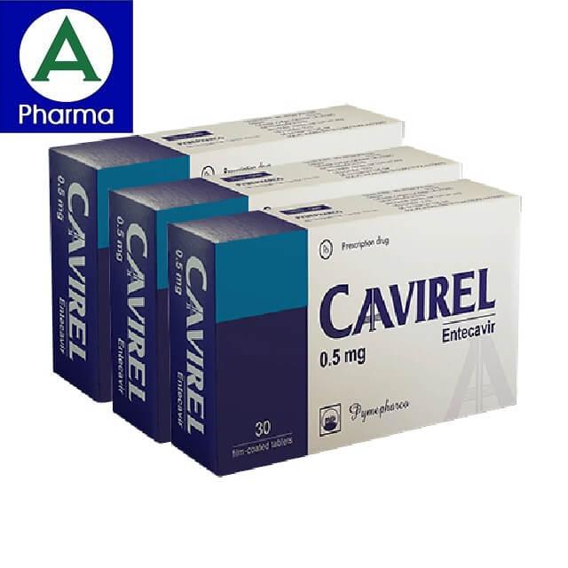 Thuốc Cavirel 0.5mg giúp điều trị viêm gan B một cách tối ưu