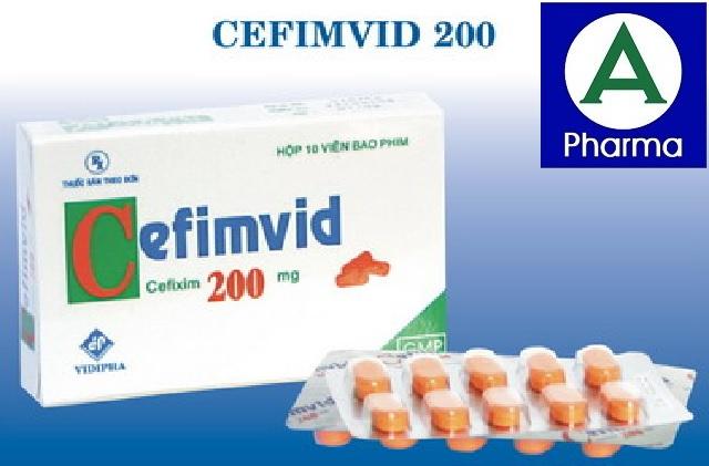 Cefimvid 200Mg 10V