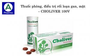 Choliver 100V là thuốc điều trị gì?