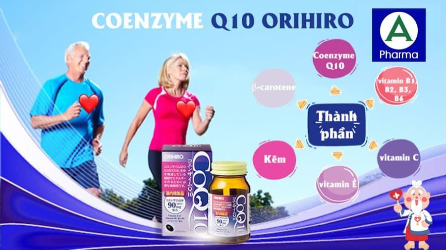 Viên uống CoQ10 Orihiro dùng được cho bệnh nhân cao huyết áp