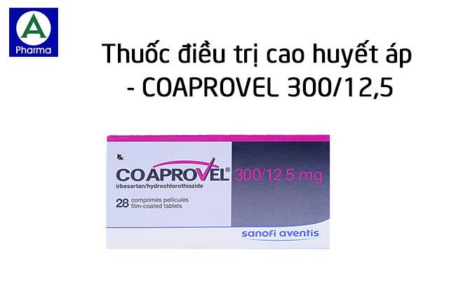 Coaprovel 300/12,5 là thuốc gì?