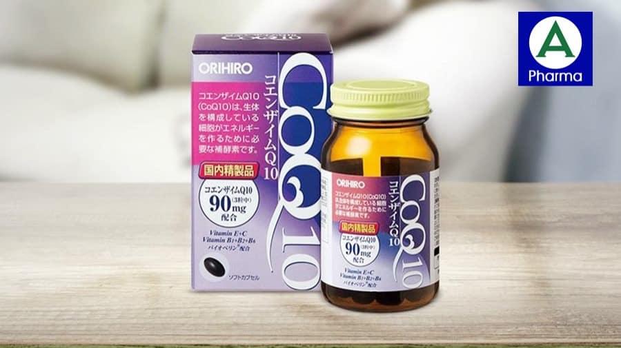 Coenzyme Q10 Orihiro - Viên uống hỗ trợ tim mạch nổi tiếng từ Nhật Bản