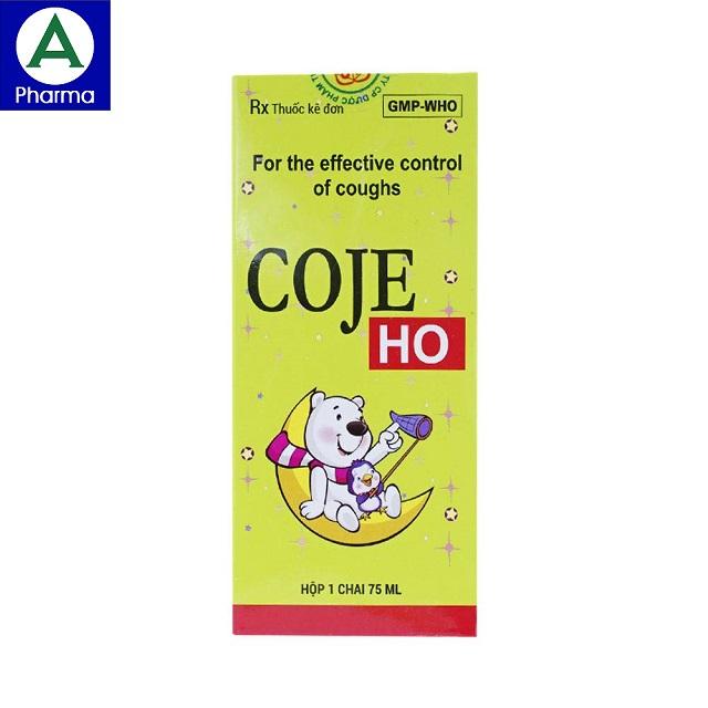 Coje Ho 75ml là thuốc gì?