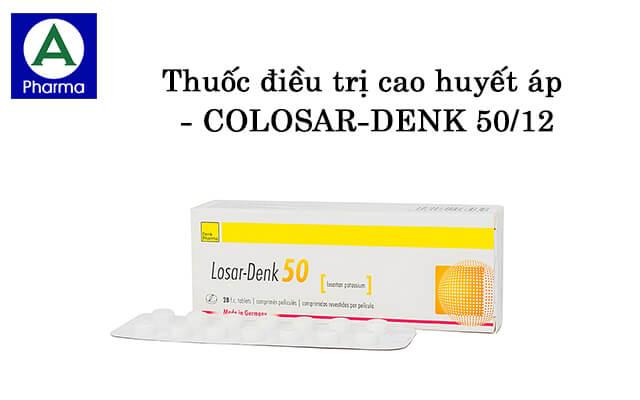 Colosar-Denk 50/12.5 2X14 là thuốc gì?