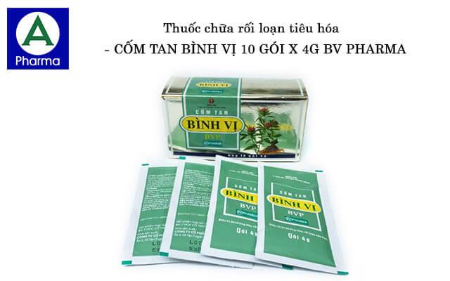 Cốm Tan Bình Vị 10 Gói X 4G Bv Pharma là gì?