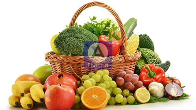 Trái cây và rau xanh