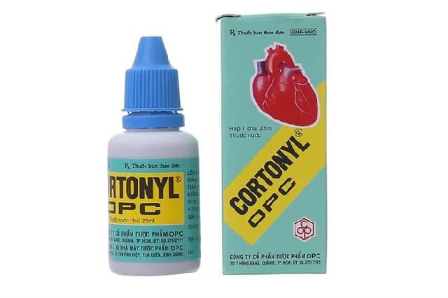 Thuốc trợ tim Cortonyl 25ml