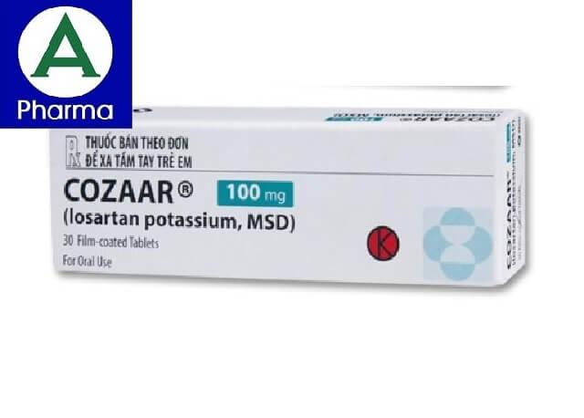 Thuốc trị cao huyết Cozaar 100
