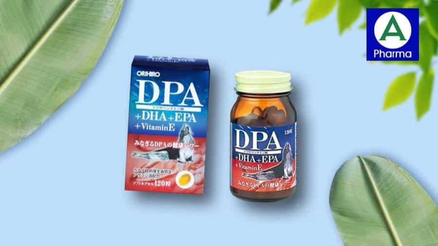 DPA DHA EPA Vitamin E Orihiro - Viên uống giúp bổ não, sáng mắt được ưa chuộng toàn cầu