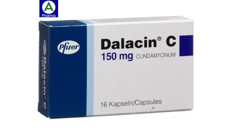 Dalacin C 300mg - Thuốc điều trị nhiễm khuẩn của Pháp