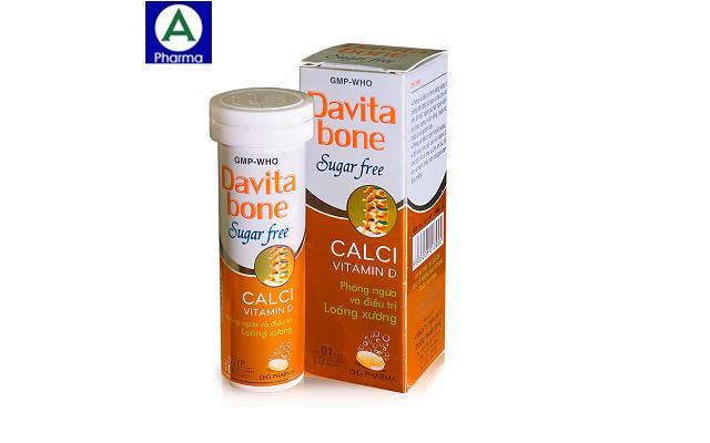 Davita bone Tuýp – Phòng và hỗ trợ điều trị loãng xương của Việt Nam