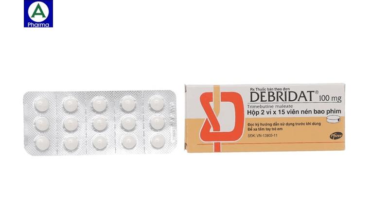 Debridat 100mg - Thuốc điều trị hội chứng ruột kích thích của Pháp