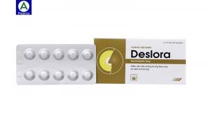 Deslora 5mg - Thuốc điều trị dị ứng, Viêm mũi dị ứng của Việt Nam