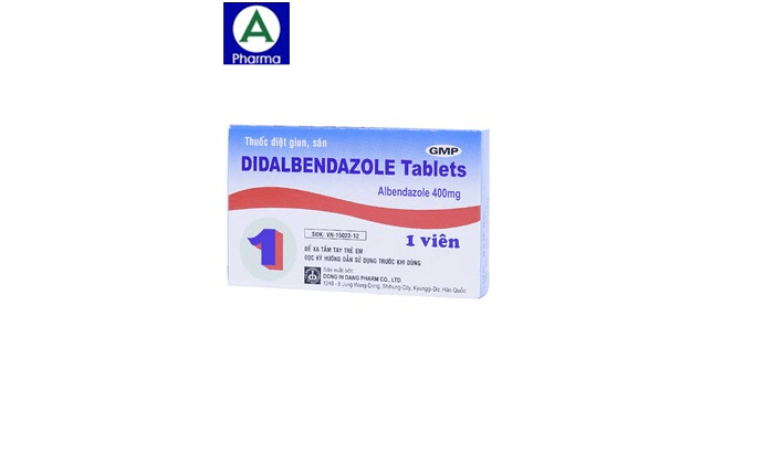 Didalbendazole - Thuốc điều trị giun sán của Hàn Quốc