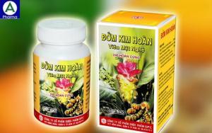 Đởm kim hoàn – Hỗ trợ điều trị mật kém, đau gan của Việt Nam