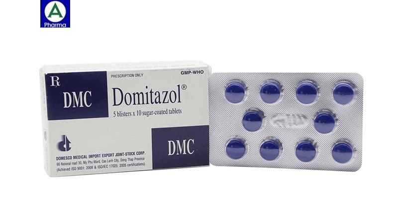 Domitazol – Thuốc điều trị nhiễm trùng đường tiết niệu của Việt Nam