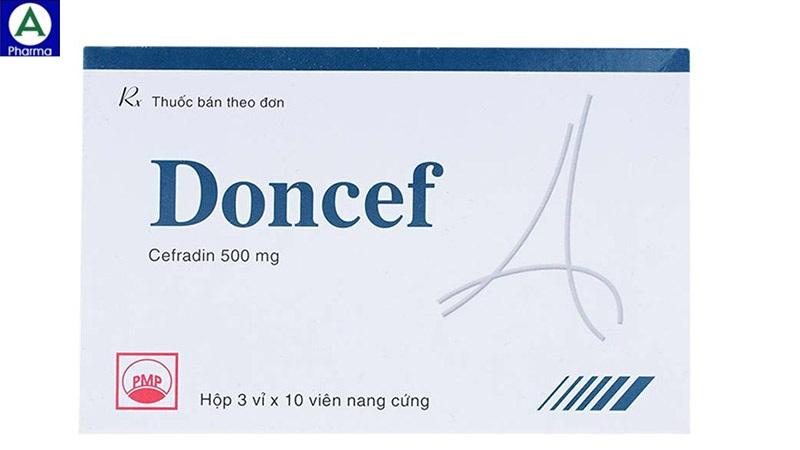 Doncef 500mg Thuốc điều trị nhiễm khuẩn của Việt Nam