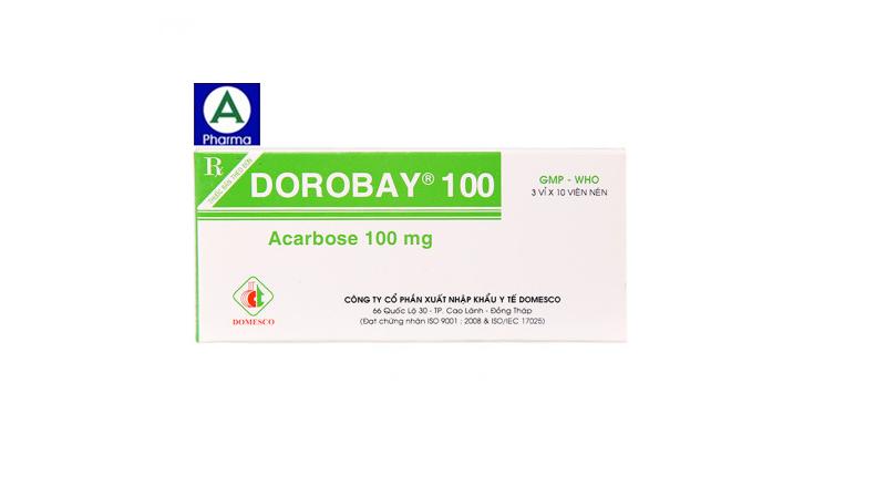 Dorobay 100mg Domesco – Thuốc điều trị đái tháo đường tuýp II của Việt Nam