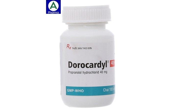 Dorocardyl 40mg Domesco - Thuốc điều trị tăng huyết áp của Việt Nam