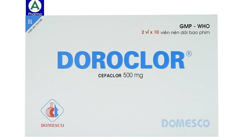 Doroclor Domesco 2x10 - Thuốc điều trị nhiễm khuẩn của Việt Nam