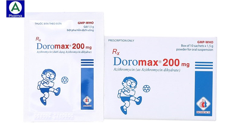 Doromax 200mg Domesco - Thuốc điều trị nhiễm khuẩn của Việt Nam