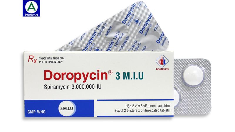 Doropycin 3 M.I.U Thuốc điều trị nhiễm khuẩn của Việt Nam