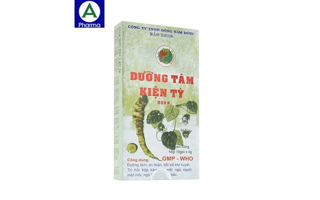 Dưỡng tâm kiện tỳ hoàn Bảo Long - dưỡng tâm an thần của Việt Nam