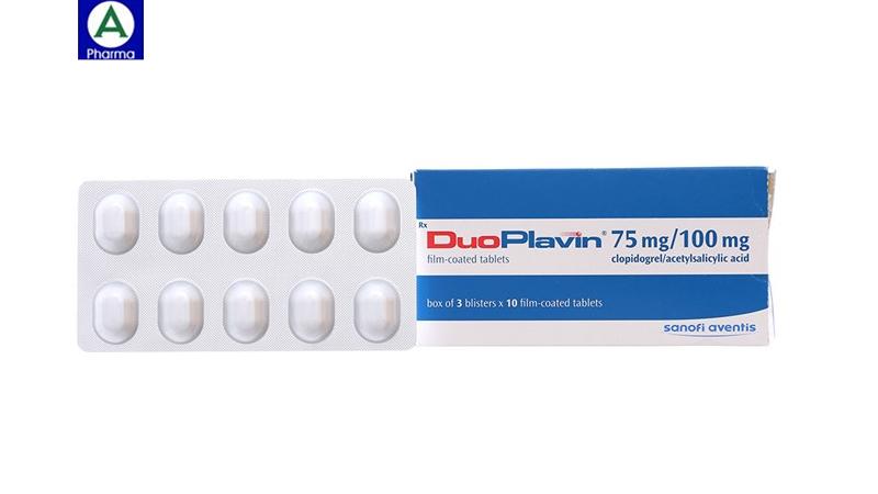 Duoplavin 75/100mg Sanofi - Thuốc dự phòng và điều trị nhồi máu cơ tim