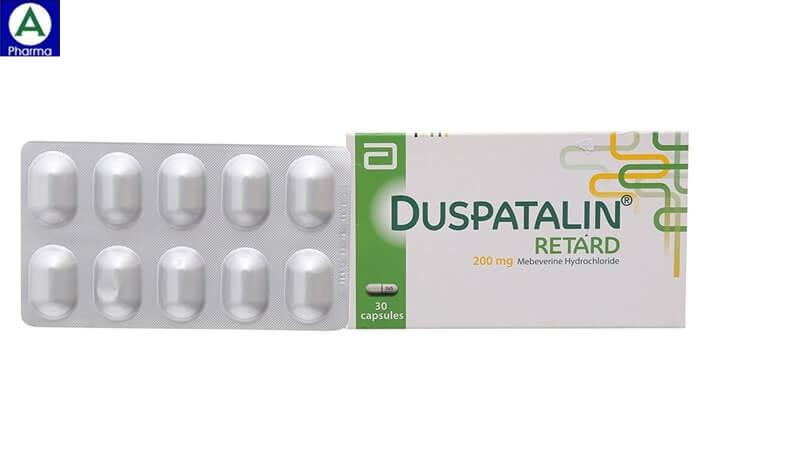 Duspatalin 200mg Solvay Pharm - Thuốc điều trị hội chứng ruột kích thích