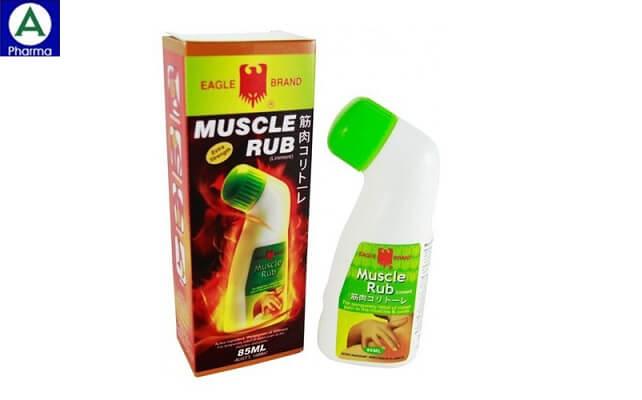 Eagle brand muscle Rub 85ml – Dầu nóng con Ó của Singapore