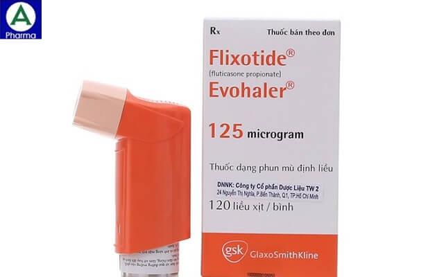 Flixotide 125mcg – Thuốc ngừa đợt cấp của hen suyễn của Việt Nam