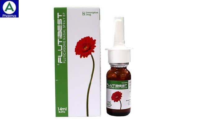 Flutibest - thuốc điều trị các triệu chứng viêm mũi của Ấn Độ