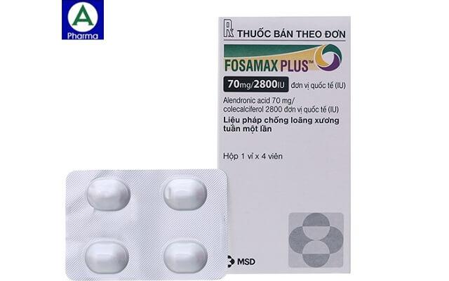 Fosamax Plus 70mg/2800IU – Thuốc điều trị và phòng loãng xương