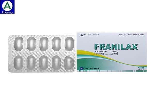 Franilax – Thuốc điều trị cao huyết áp do giữ nước của Việt Nam