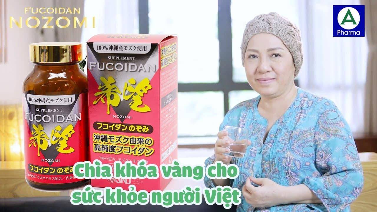 Fucoidan Nozomi Okinawa tiêu diệt tế bào ung thư theo chu trình tự chết của tế bào