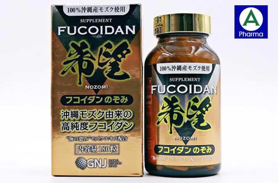 Fucoidan Nozomi là sản phẩm được sản xuất từ Nhật Bản
