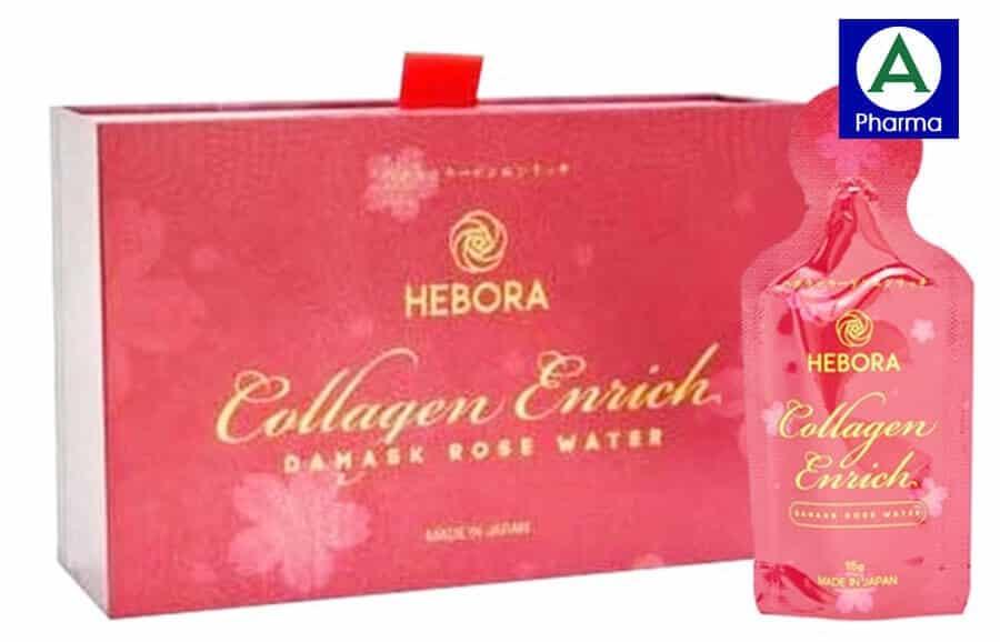 Hebora Collagen Enrich là nước uống Collagen xuất xứ từ Nhật Bản