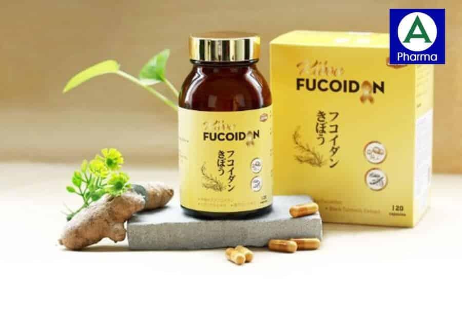 Kibou Fucoidan nghệ đen là sản phẩm có sự kết hợp của ba loại dược liệu quý