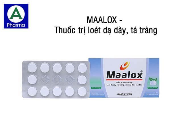 Thuốc Maalox trị đau bao tử hiệu quả