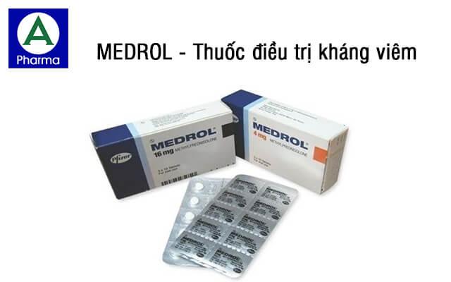 Medrol là thuốc gì?