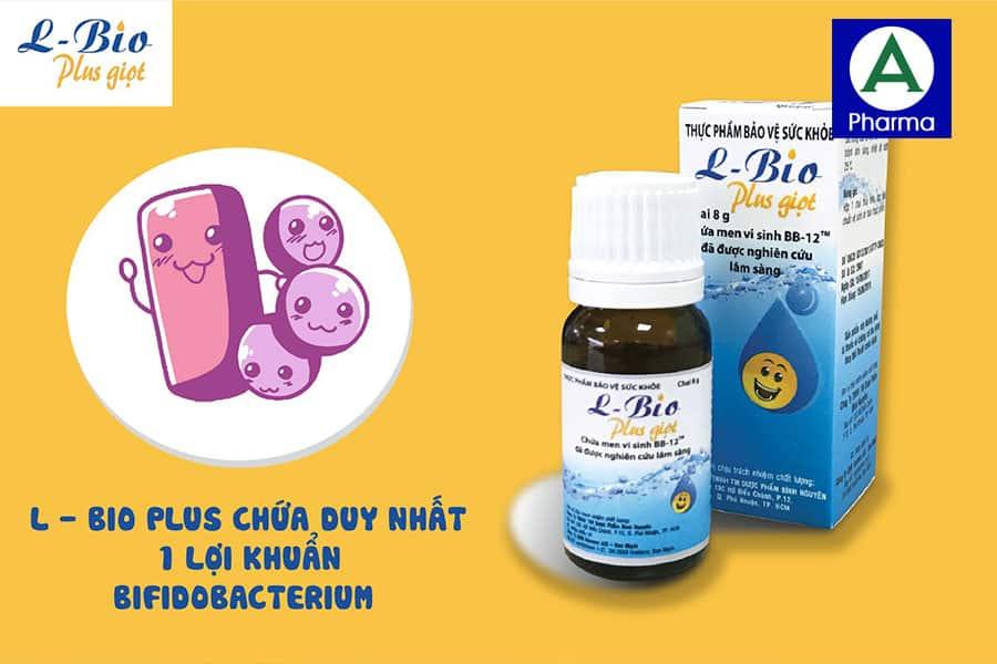 Men vi sinh L - Bio Plus giọt - Cung cấp lợi khuẩn, hỗ trợ tiêu hóa hiệu quả