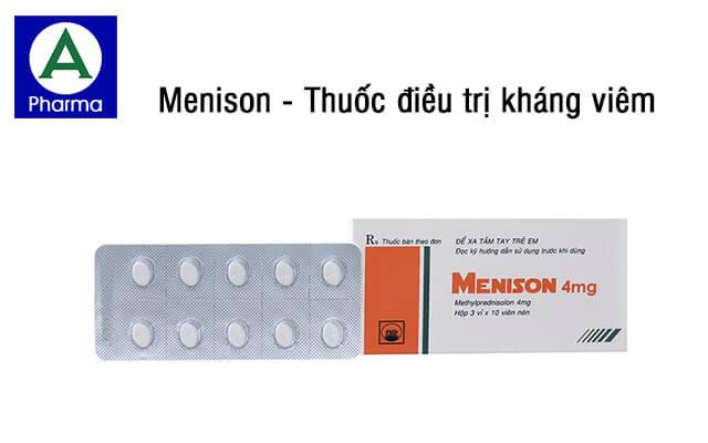 Menison là thuốc gì?